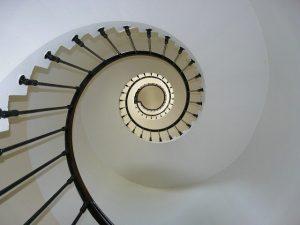 Escalier sommet du phare